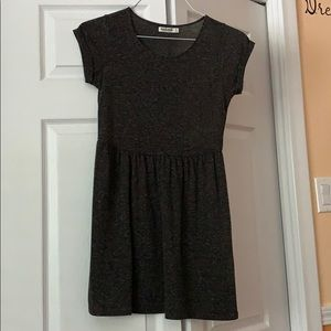 Gray T-shirt Dress (Garage, XS)